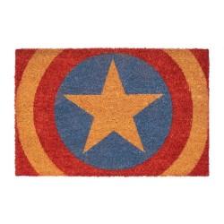 Felpudo Capitán América, fibra de coco, Marvel