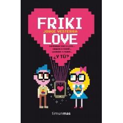 Libro, Friki Love de Jorge Vesterra