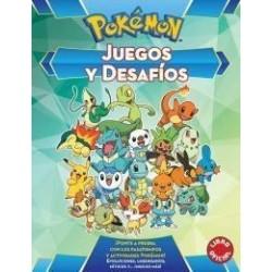 Libro Juegos y desafios Pokémon
