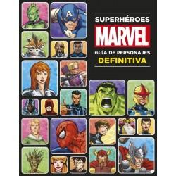 Libro: Superheroes Guia de personajes definitiva, Marvel