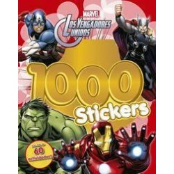 Libro: Vengadores 1000 Stickers, Marvel