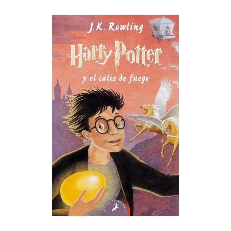 Libro: Harry Potter y el cáliz de fuego, tapa blanda