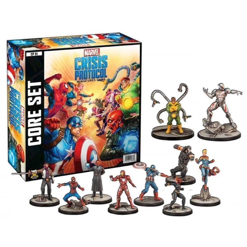 Juego Miniaturas Marvel Crisis Protocol (en inglés)
