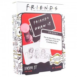 Juego de dibujar de Friends (en inglés)