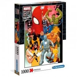 Puzzle Marvel 80 años (1000 piezas)