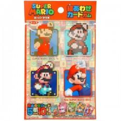 Carta coleccionable + chicle Mario Bross