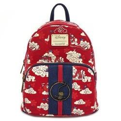 Mini-mochila Mulan, burdeos Mushu, Mulan