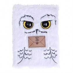 Cuaderno A5 peluche Hedwig, Harry Potter