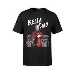 Camiseta Bella Ciao, La casa de papel