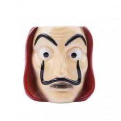 Taza 3D Máscara La Casa de Papel