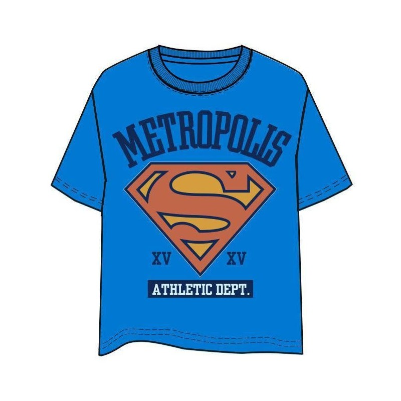 Camiseta Metropolis Superman DC Comics adulto
