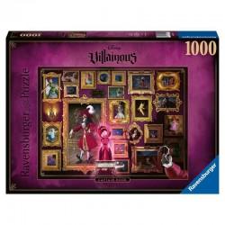Puzzle Capitan Garfio Villanos Disney 1000pz