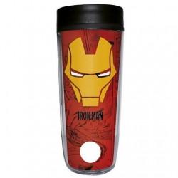 Vaso de Viaje Iron Man