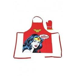 Delantal y manopla Wonder Woman, DC