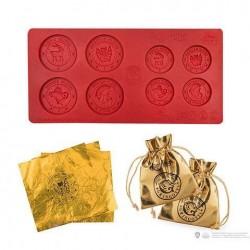 Molde de monedas Gringots Bank Harry Potter
