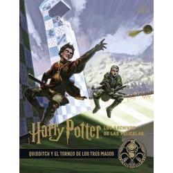 Libro: Los archivos de las peliculas 7, Quidditch y el tornero de los tres magos, Harry Potter