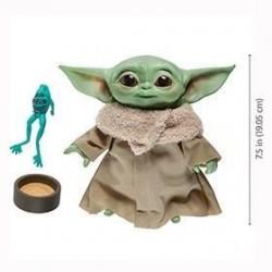 Peluche baby Yoda con sonido, Star Wars
