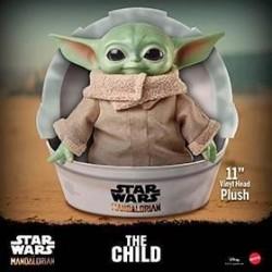 Peluche Baby Yoda, Star Wars