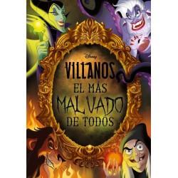 Libro: Villanos. El más Malvado de todos, Disney