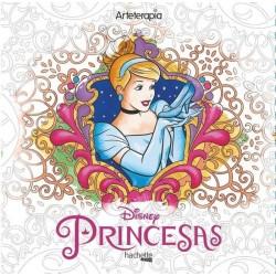 Libro: Arteterapia Pincesas, Disney