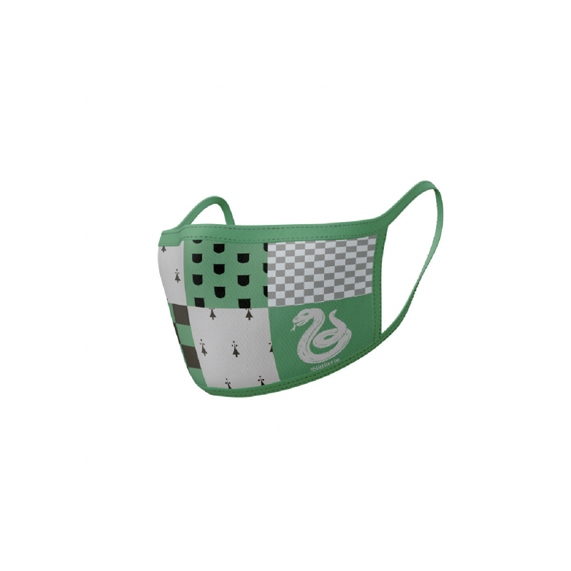 Mascarilla / Protector facial, Slytherin, Harry Potter