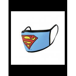 Mascarilla / Protector facial, Superman, Diseño DC Comics