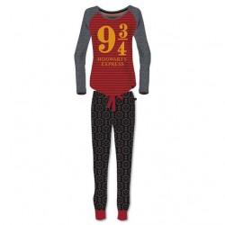 Pijama Plataforma 9 3/4 adulto Harry Potter