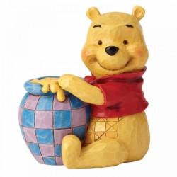 Mini figura Winnie the Pooh con tarro de miel