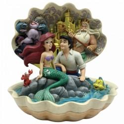 Figura escena de la concha - La Sirenita