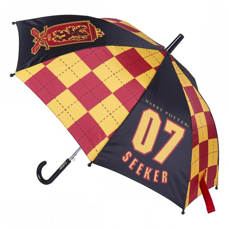 Paraguas Automático Quiddich Gryffindor - Harry Potter