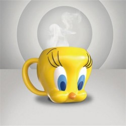 Taza 3D Piolin, Looney Tunes