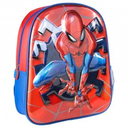 Mochila infantil Spiderman metalizada, Marvel