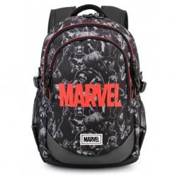 Mochila logo Marvel, 44 cm 3 bolsillos