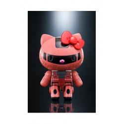 Figura Chars Zaku II, Gundam y Hello Kitty