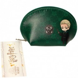 Mini monedero Slytherin, Harry Potter, Draco y Snape