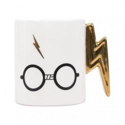 Taza gafas y rayo, Harry Potter