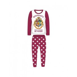 Pijama infantil Harry Potter rojo