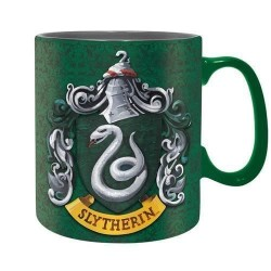 Taza Slytherin, 460 ml, Harry Potter