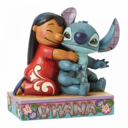 Figura Lilo y Stitch, Disney Traditions by Jim Shore