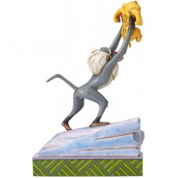 Figura Rafiki y Bebé Simba, El Rey León, Disney Traditions by Jim Shore