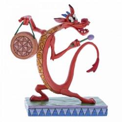 Figura de Mushu, Mulán, Disney Traditions by Jim Shore