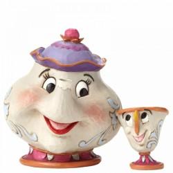 Figura de Sra Potts y Chip, Disney Traditions by Jim Shore