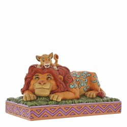 Figura de Simba y Mufasa, El Rey León, Disney Traditions by Jim Shore