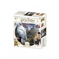 Puzzle lenticular Harry Potter, Hedwig 500 piezas