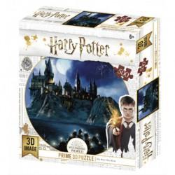 Puzzle lenticular Harry Potter, Castillo Hogwarts, 500 piezas