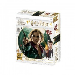 Puzzle Lenticular Harry Potter, Hermione Batalla de Hogwarts, 300 piezas