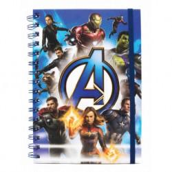 Libreta Vengadores Marvel Cómics