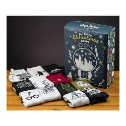 Calendario adviento Harry Potter calcetines