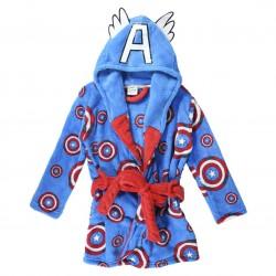 Bata de Capitán América, Marvel, Coral Fleece