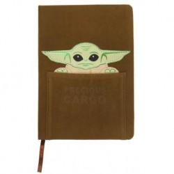 Libreta Baby Yoda A5, The Mandalorian
